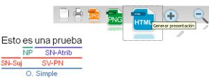 Botón Generar presentación